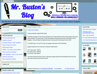 mrbuxton.blogspot.sg screenshot