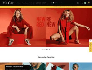 mrcat.com.br screenshot