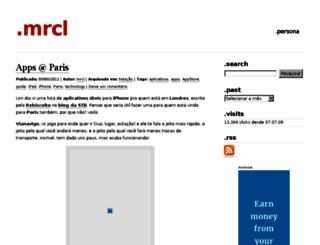 mrcls.wordpress.com screenshot