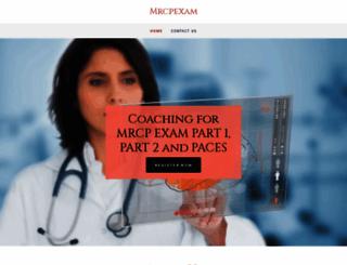 mrcpexam.com screenshot