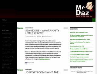 mrdaz.com screenshot