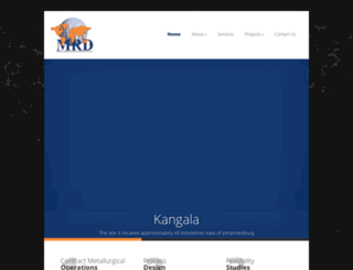 mrdev.co.za screenshot
