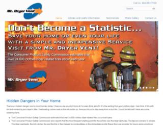mrdryervent.com screenshot