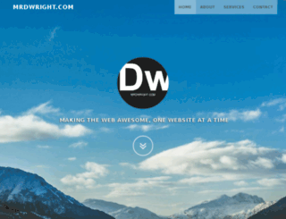 mrdwright.com screenshot