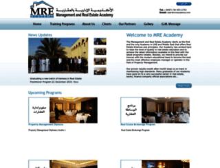 mreacademy.com screenshot