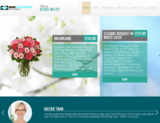 mrfloristkensington.co.uk screenshot