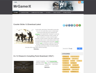mrgamerx.blogspot.com screenshot