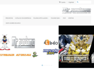 mrgundamio.com screenshot