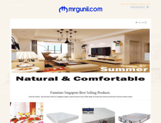 mrgunii.com screenshot