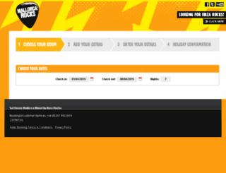 mrh.ibizarocks.com screenshot