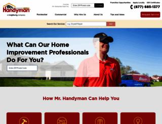 mrhandyman.com screenshot