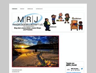 mrj-blog.de screenshot