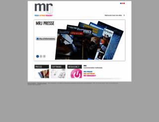 mrj-corp.fr screenshot