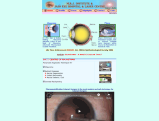 mrj-jaineye.com screenshot