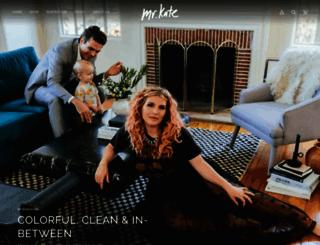 mrkate.com screenshot