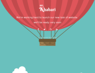 mrkhabari.com screenshot
