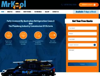 mrkoolairconditioning.com.au screenshot