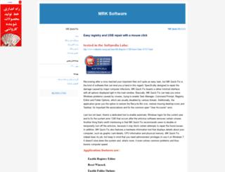 mrksoftware.blogfa.com screenshot