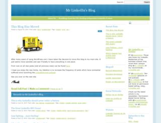 mrlinkedin.wordpress.com screenshot