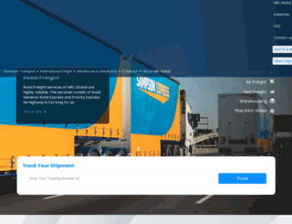 mrllogistics.com.au screenshot