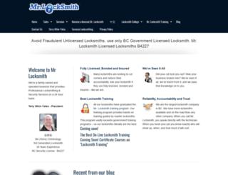 mrlocksmith.com screenshot