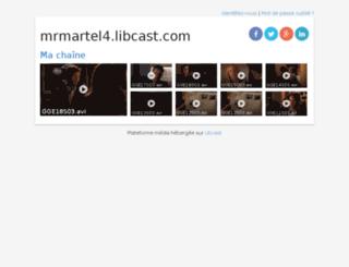 mrmartel4.libcast.com screenshot