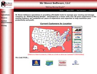 mrmoversoftware.com screenshot