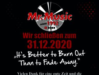 mrmusic.com screenshot
