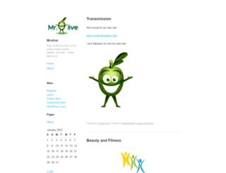 mrolive1.wordpress.com screenshot