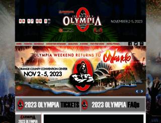 mrolympia.com screenshot