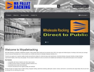 mrpalletracking.com.au screenshot