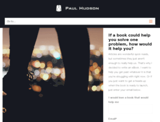 mrpaulhudson.com screenshot