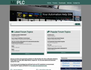 mrplc.com screenshot