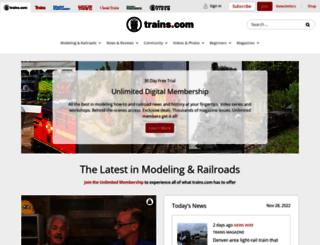 mrr.trains.com screenshot