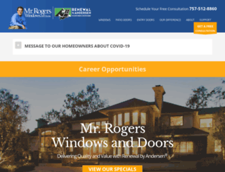 mrrogerswindows.com screenshot