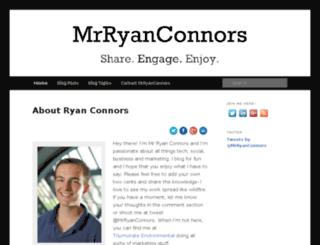 mrryanconnors.com screenshot