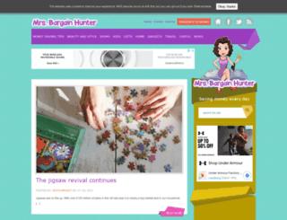mrsbargainhunter.co.uk screenshot