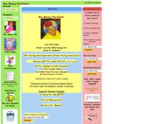 mrsbunnytheclown.com screenshot