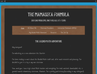 mrsfonseca.edublogs.org screenshot