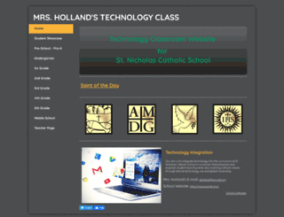 mrsholland.yolasite.com screenshot