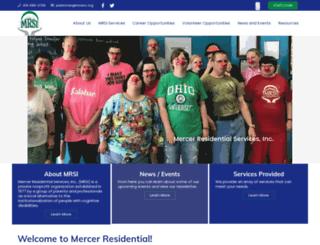mrsinc.org screenshot