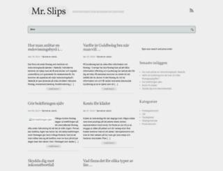mrslips.se screenshot