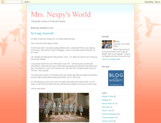 mrsnespysworld.blogspot.com screenshot