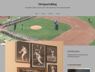 mrsportsblog.wordpress.com screenshot