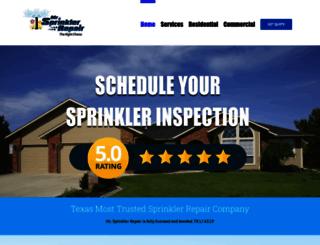 mrsprinklerrepair.com screenshot