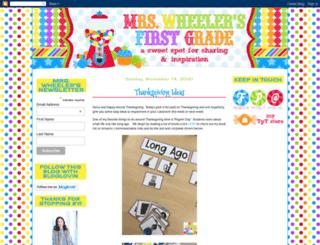 mrswheelerfirst.blogspot.com screenshot