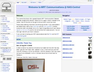 mrt.nas-central.org screenshot