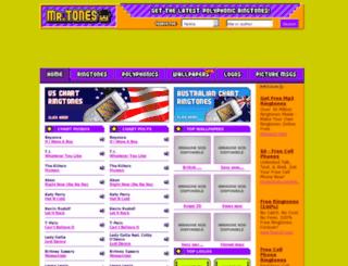 mrtones.com screenshot