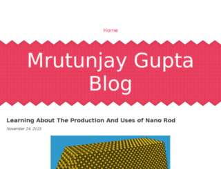 mrutunjaygupta.jigsy.com screenshot