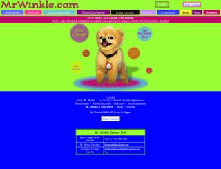 mrwinkle.com screenshot